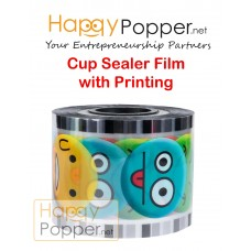 Cup Sealer Film 3200 cups ( Printing )