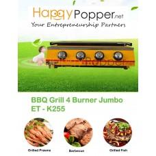 BBQ Grill 4 Burner Jumbo