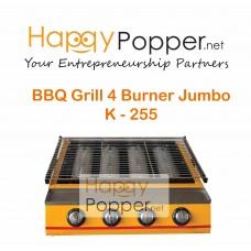 BBQ Grill Gas 4 Burner Jumbo K - 255