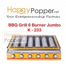 BBQ Grill Gas 6 Burner K - 233