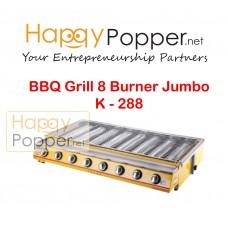BBQ Grill Gas 8 Burner Jumbo K - 288