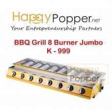 BBQ Grill Gas 8 Burner Jumbo K - 999