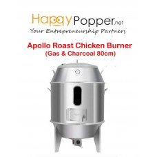 Apollo Roast Chicken Burner 80 cm ( Gas & Charcoal )