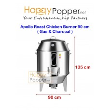 Apollo Roast Chicken Burner 90 cm ( Gas & Charcoal )