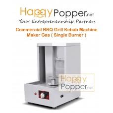 Commercial BBQ Grill Kebab Machine Maker Gas ( Single Burner )