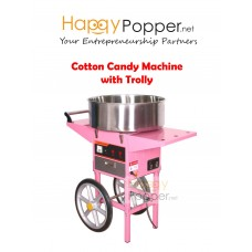 Cotton Candy with Trolly