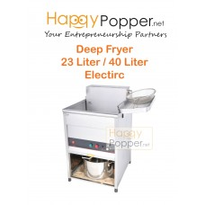 Deep Fryer 23 / 40 Liter with Stand 1 Basket ( Electric )