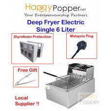 Deep Fryer 6 Liter 1 Tank ( Electric )