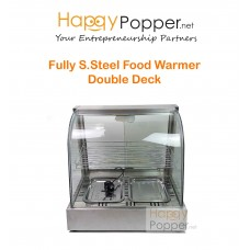 Fully Stainless Steel Food Warmer 2 Deck