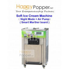 Soft Ice Cream Machine ( Night Mode + Air Pump )