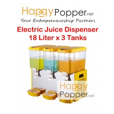 Electric Juice Dispenser 18 Liter x 3 Tanks