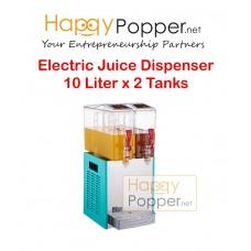 Electric Juice Dispenser 10 Liter x 2 Tanks