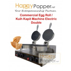 Commercial Egg Roll Kuih Kapit Machine Electric Double