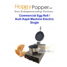 Commercial Egg Roll Kuih Kapit Machine Electric Single