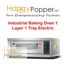 Industrial Baking Pizza Oven 1 Layer 1 Tray Electric
