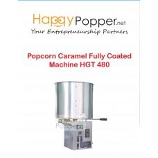 Popcorn Caramel Fully Coated Machine HGT 480