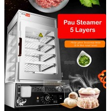 Pau Steamer 5 Layer