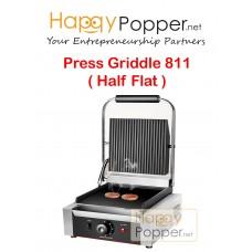 Press Griddle Sanwich Grill 811 ( Half Flat )