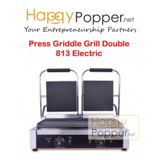 Press Griddle Sanwich Grill Double 813 Electric