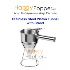 Piston Funnel with Stand