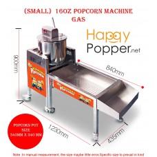 Small 16oz Popcorn Machine  Gas
