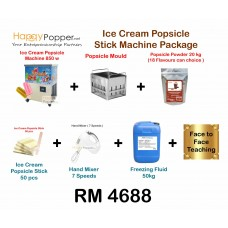 Ice Cream Popsicle  Stick Machine Package