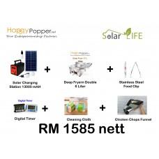 Solar Deep fryer Gas 17L Package