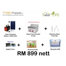 Solar Deep fryer Gas 6L Double Package