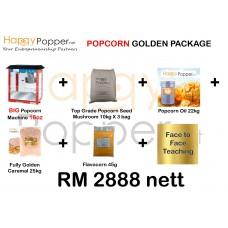 Popcorn Golden Package