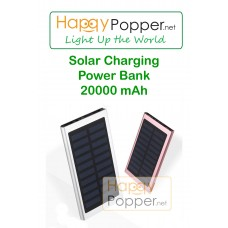 Solar Charging Power Bank  20000 mAh
