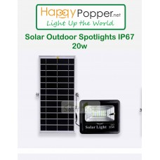 Solar Outdoor Spotlights 20w