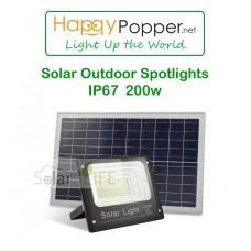 Solar Outdoor Spotlights IP 67  200w