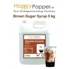 Brown Sugar Syrup 5 kg 珍珠奶茶黑糖酱