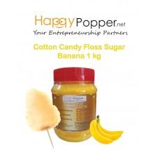 Cotton Candy Floss Sugar Banana 1 kg