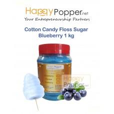 Cotton Candy Floss Sugar Blueberry 1 kg