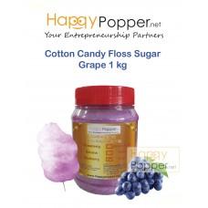 Cotton Candy Floss Sugar Grape 1 kg