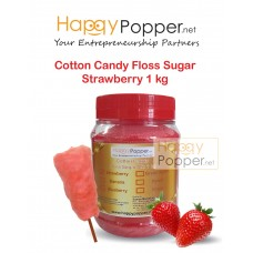 Cotton Candy Floss Sugar Strawberry 1 kg