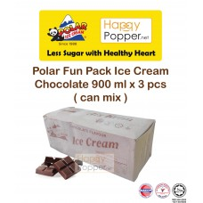 Polar Fun Pack Chocolate Ice Cream 900 ml x 3 pcs