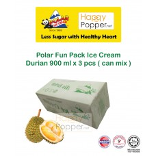 Polar Fun Pack Durian Ice Cream 900 ml x 3 pcs