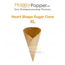 Heart Shape Sugar Cone XL