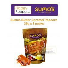 Sumos Gourmet Popcorn Butter Caramel Popcorn 25 g x 8