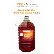 Popping Oil 5kg ( Pure with Vitamin A & E )