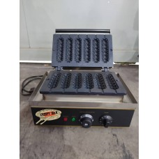Hotdog Waffle Machine Maker (6pcs) ( Display Unit )