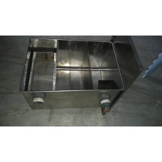 Stainless Steel Grease Trap Interceptor ( 2hand )
